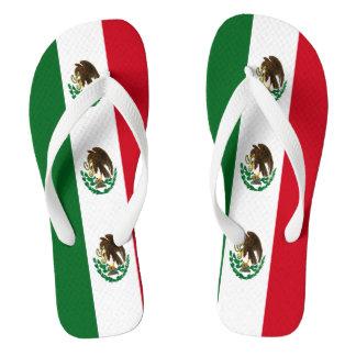 Tongs Drapeau du Mexique