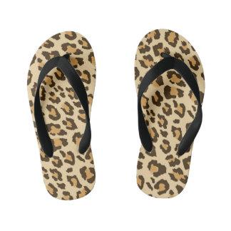 Tongs Enfants Empreinte de léopard