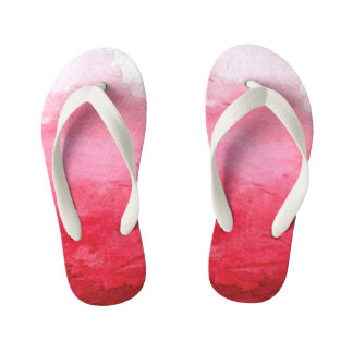 Tongs Enfants L'aquarelle rose badine la bascule électronique