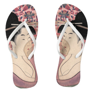 Tongs La beauté orientale, Kushi par Kitagawa Utamaro