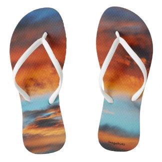 Tongs Sandales de bascule électronique des femmes le