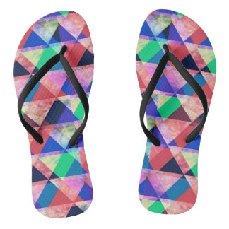 Tongs Triangles Colorful