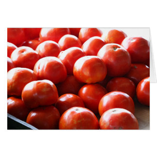 Tonnes d'o de carte de tomates
