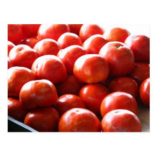 Tonnes d'o de carte postale de tomates