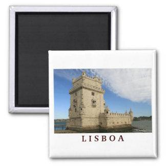 Torre De aimant de Belem Lisbonne