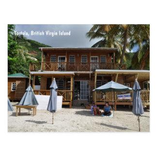 Tortola, carte postale de plage d'île de Vierge