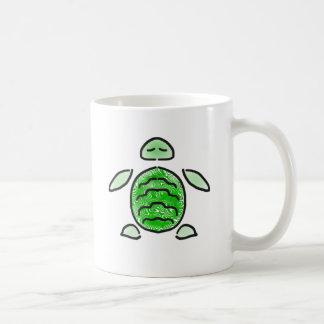 Tortue de mer Relaxed Cutie Mug Blanc