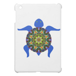 Tortue kaléïdoscopique Design.8 de mandala Coque Pour iPad Mini