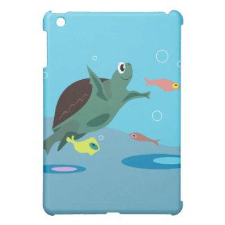 Tortue mignonne coque pour iPad mini