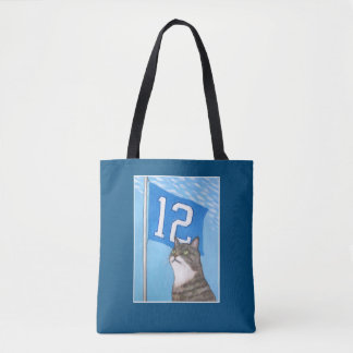 Tote Bag 12ème Drapeau (bleu)