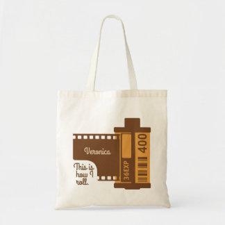 Tote Bag A personnalisé ceci est comment je roule le film