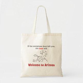 Tote Bag Accueil vers l'Arizona !