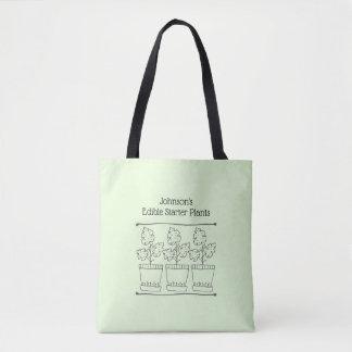 Tote Bag Affaires de plante verte et de pépinière