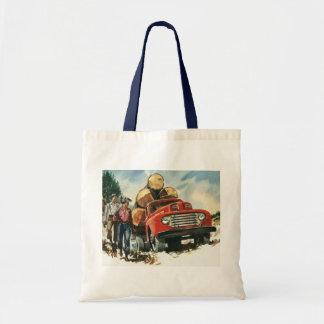 Tote Bag Affaires vintages, camion de notation avec des
