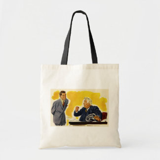 Tote Bag Affaires vintages, employé exécutif de patron de