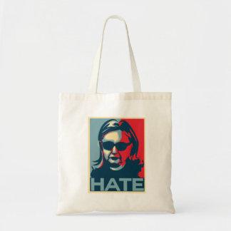 Tote Bag Affiche d'Obama-style de haine de Hillary Clinton