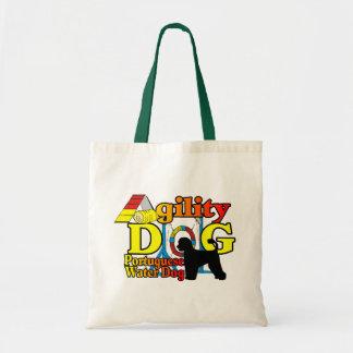 Tote Bag Agilité portugaise de chien d'eau