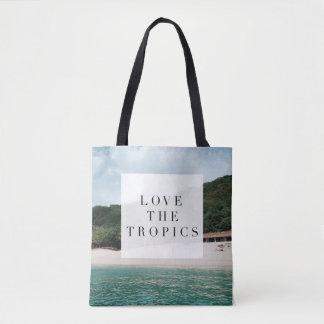 Tote Bag Aimez les tropiques