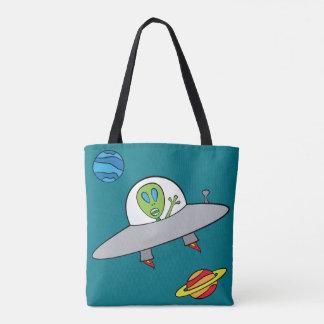 Tote Bag Alex l'alien - tout plus de - imprimez la