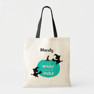 Tote Bag Allergies alimentaires turquoises Halloween