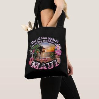 Tote Bag Aloha l'esprit m'appelle de nouveau à Maui