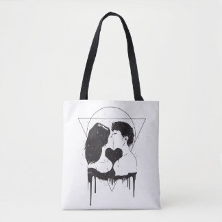 Tote Bag Amour cosmique