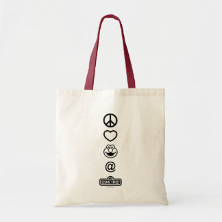 Tote Bag Amour Elmo de paix