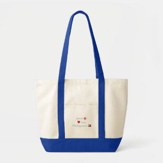 Tote Bag Amour et Philippines de paix