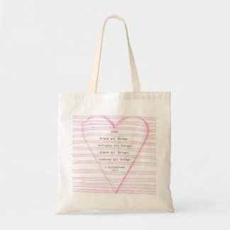 Tote Bag Amour Fourre-tout