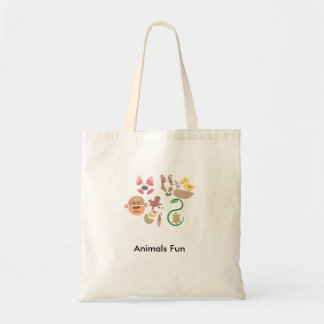 Tote Bag Amusement d'animaux