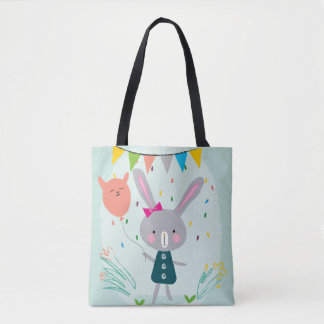 Tote Bag Amusement de lapin