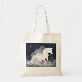 Tote Bag Ange de licorne d'imaginaire