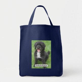 Tote Bag Animal familier d'Obama/chien d'eau portugais