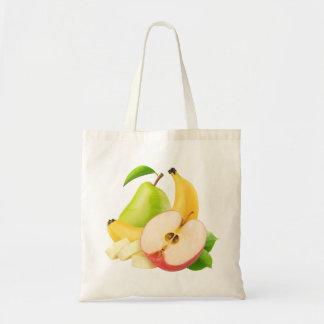 Tote Bag Apple, banane et poire