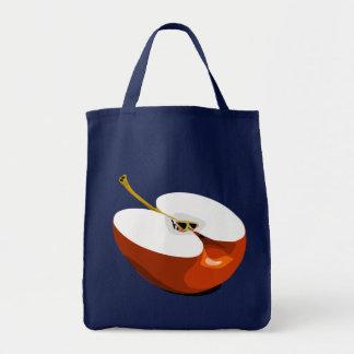 Tote Bag Apple coupent en tranches l'épicerie fourre-tout