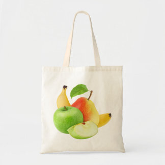 Tote Bag Apple, poire et banane