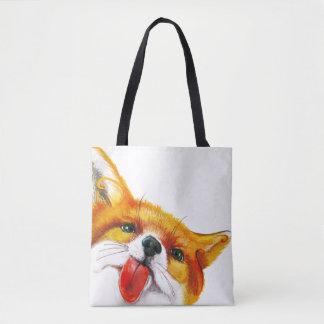 Tote Bag Aquarelle de Fox