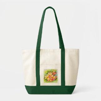Tote Bag Aquarelle Fourre-tout de plumeria de Malorie