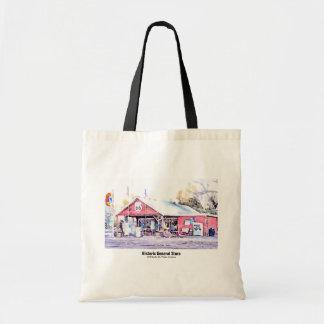Tote Bag Aquarelle historique d'épicerie générale de