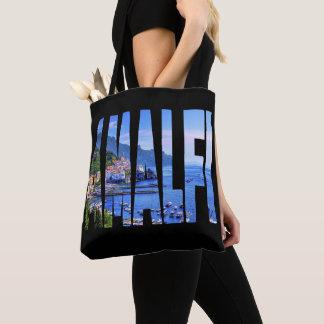 Tote Bag Aquarelle moderne de photo de typographie de côte