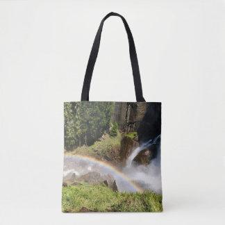 Tote Bag Arc-en-ciel -- Yosemite -- Chute d'eau