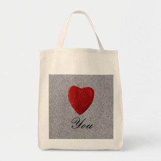 Tote Bag Arrière-plan d'ardoise Love you