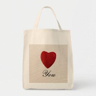 Tote Bag Arrière-plan ébarber Love you