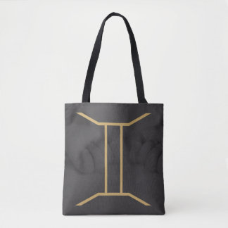 Tote Bag Arrière - plan fait sur commande du signe   de