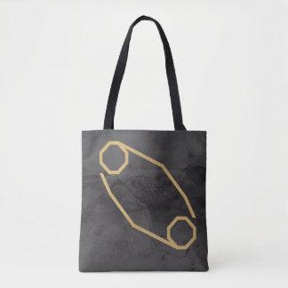 Tote Bag Arrière - plan fait sur commande du signe | de