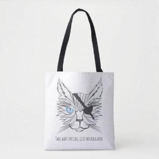 Tote Bag Art #1 de fan de chats de pirate