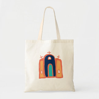 Tote Bag art catholique de Santa Fe d'art de /mission de