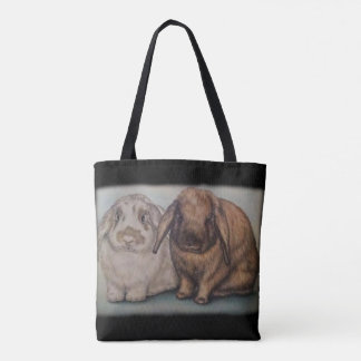 Tote Bag Art d'animal de lapin de dessin de lapin