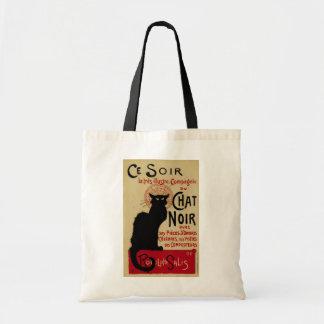 Tote Bag Art vintage Nouveau, Le Chat Noir