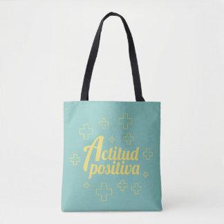 Tote Bag Attitude Positive
